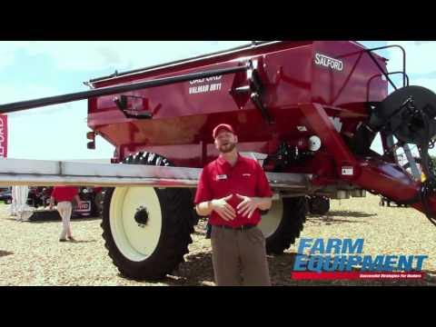 Salford Group Introduces The Valmar 8611  Pull Type Airboom Applicator
