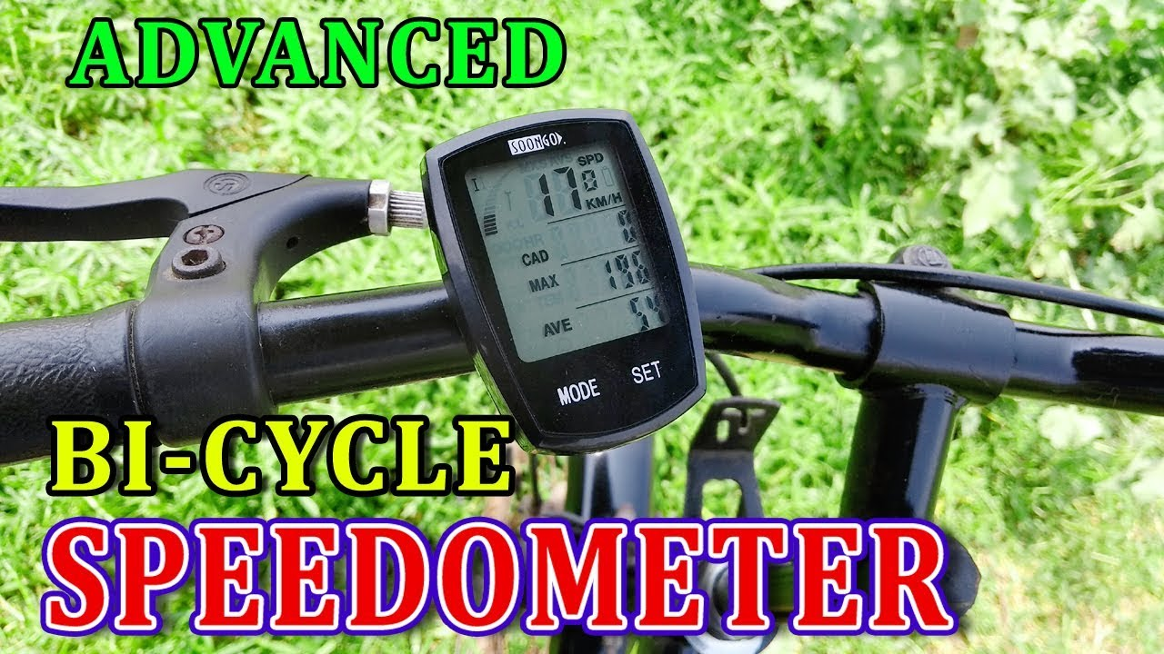 Speedometer For Motorized Bicycles Bicycles Waterproof Multi Function