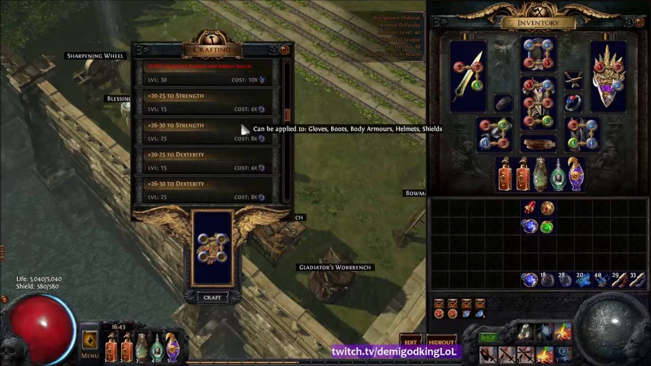 How To Get Crafting Poe