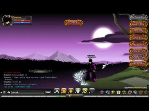 AQW: How to get Shadow Blast Flames (Tuesday)