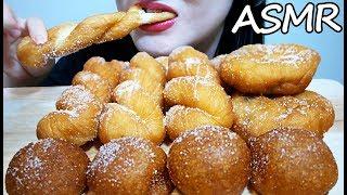 찹쌀 도너츠 꽈배기 리얼사운드 먹방 ASMR CRUNCHY CHEWY DONUTS (EATING SOUNDS) No Talking