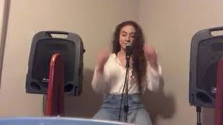 Camila Cabello Real Friends (cover sang by Destinee Zickmund) piano version