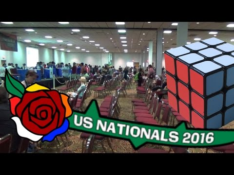 US Nationals Rubik's Cube Competition 2016!
