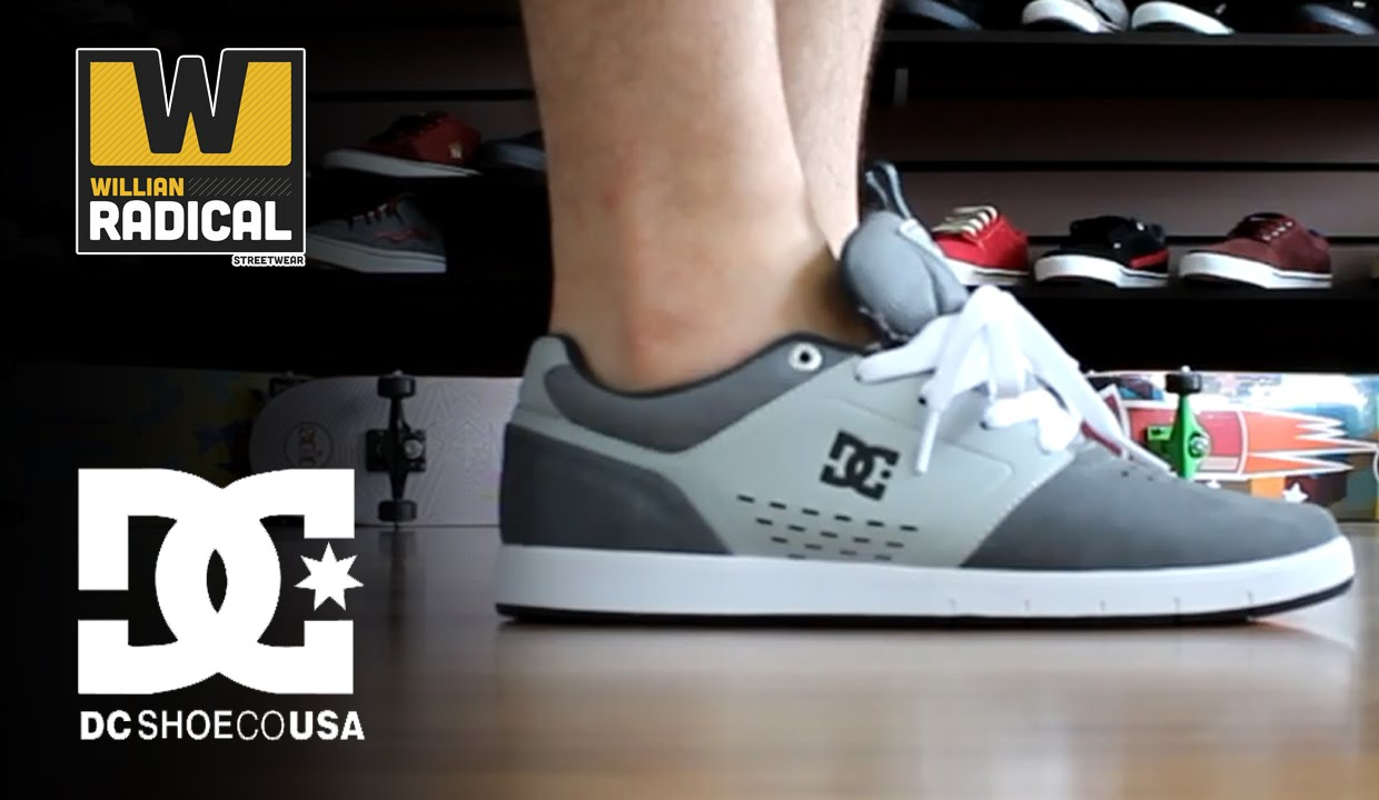 16aed146ab Tênis DC Shoes Cole Signature Grey - YouTube