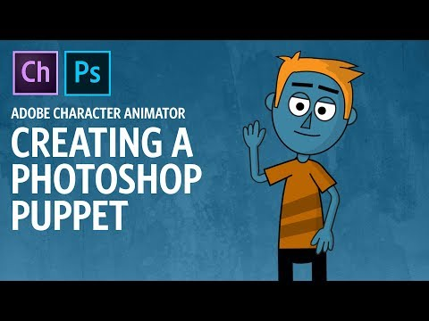 Creating A Photoshop Puppet (Adobe Character Animator Tutorial)