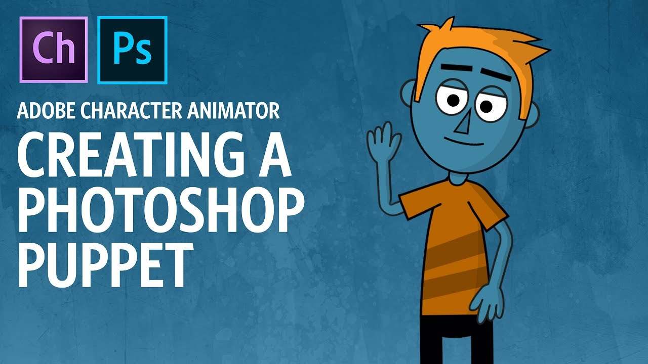 Creating a Photoshop Puppet (Adobe Character Animator Tutorial ...