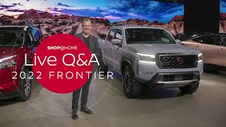 homepage tile video photo for How much can the Frontier tow? | 2022 Nissan Frontier Q&A