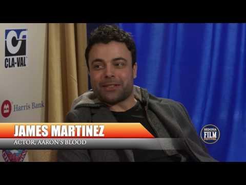 James Martinez Aaron's Blood Interview #SedonaFilmFestival