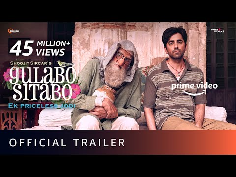 Gulabo Sitabo - Official Trailer   Amitabh Bachchan, Ayushmann Khurrana   Shoojit, Juhi   June 12