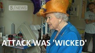 Queen meets Manchester blast victim and calls attack