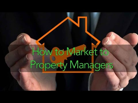 How To Market To Property Managers Featuring Ricky Edwards
