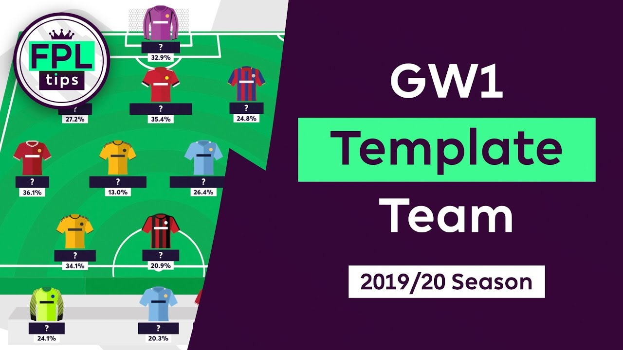 What's the Most Popular FPL Squad for Gameweek 1? | fantasyfootballfix com  | Fantasy Premier League