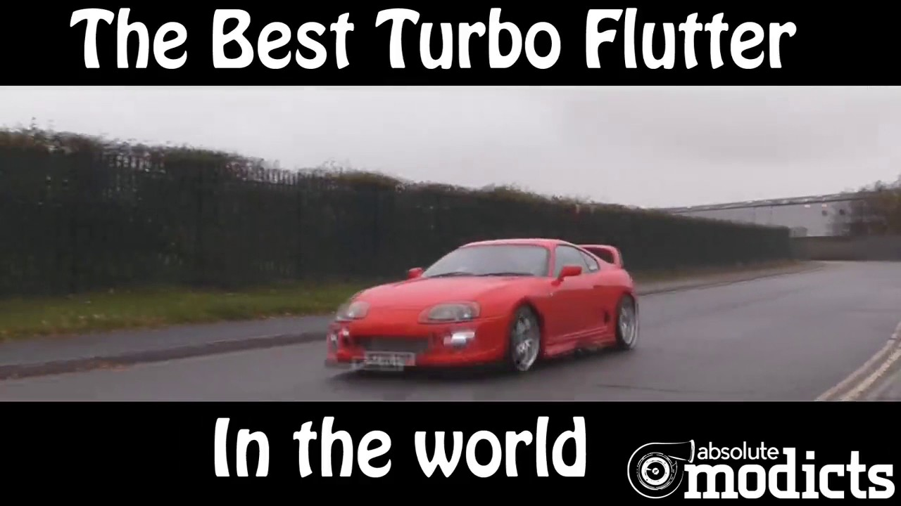 The best turbo flutter sound in the World