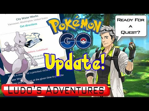 QUEST'S COMING TO POKEMON GO - 3'RD EX RAID PASS - NEW DEX ENTRIES - POKEMON GO VLOG - ROAD TO 500