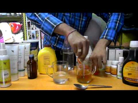 Testing : Forever Living Products Stabilized Aloevera Gel v/s Indian Market Aloevera Gel