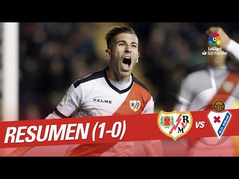 Resumen de Rayo Vallecano vs SD Eibar (1-0)