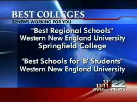 Western New England Named in Best Colleges Guidebook