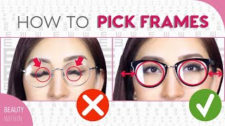 How to Pick the Perfect Glasses for Your Face Shape | Beauty Within
