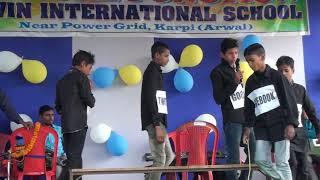 Social media  drama . Navin international school karpi