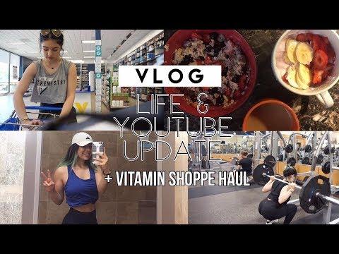 Update / Vitamin Shoppe haul / Gym / Vlog | Daisyb