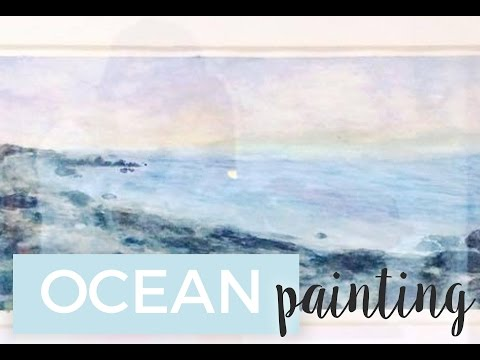 OCEAN Watercolour painting