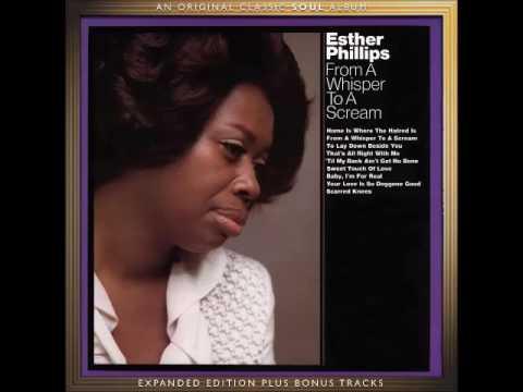 A FLG Maurepas upload - Esther Phillips - 'Til My Back Ain't Got No Bone - Soul Jazz