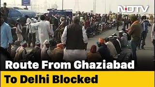 Farmer Protests: Delhi-Meerut Expressway Partially Blocked