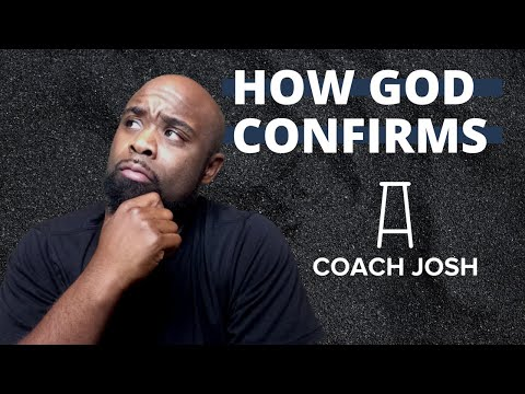 8 WAYS GOD CONFIRMS THE RIGHT PEOPLE AND PIECES IN OUR LIVES. Daily Plays w/ Coach Josh