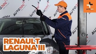 RENAULT LAGUNA DIY repair - car video guide