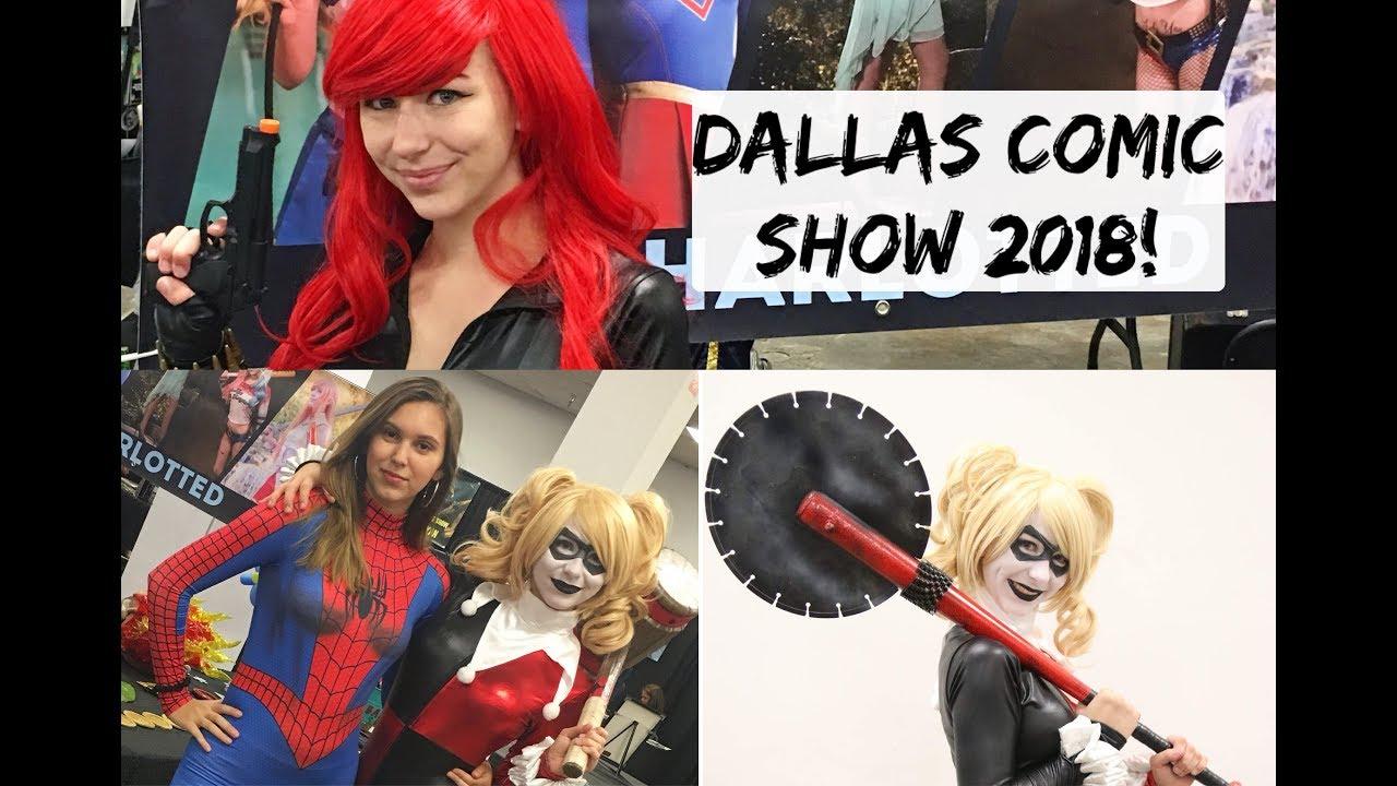 dallas comic show 2018
