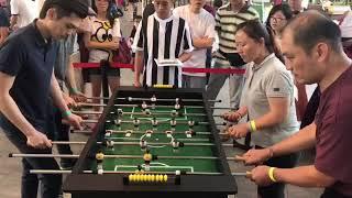 Singapore IMM foosball:Sbs group matchup champion