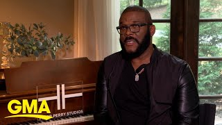 Inside look at Tyler Perry historic new film studio l GMA