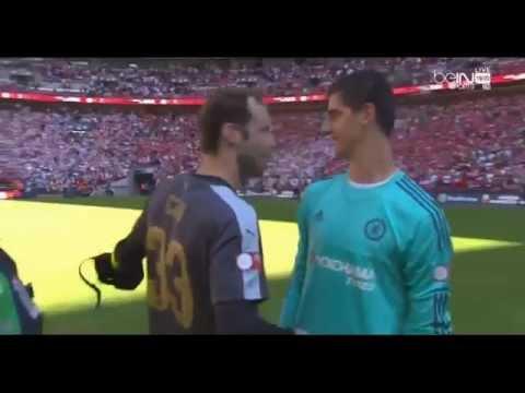Petr Cech VS Thibaut Courtois HD Arsenal F.C. - Chelsea F.C.