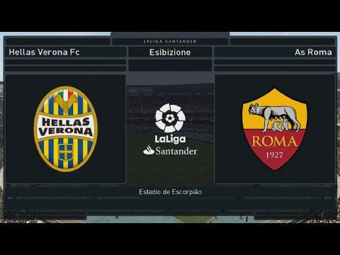 Verona Vs Roma - 23°Giornata [1080p/60FPS] | PES 2018 HELLAS PATCH V1.00