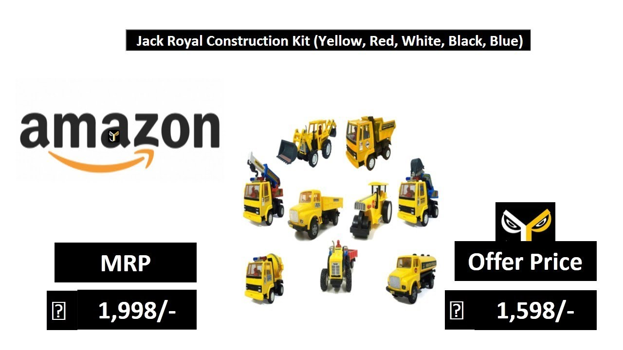 Jack Royal Construction Kit (Yellow, Red, White, Black, Blue)
