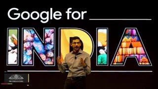 Sundar Pichai in India | 8 Things The Google CEO had to Share
