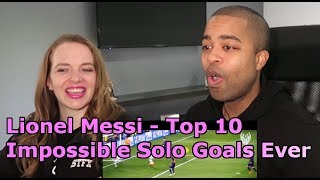 Lionel Messi - Top 10 Impossible Solo Goals Ever ● Legendary One-Man Show ● HD (REACTION 🔥)