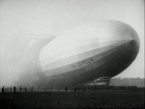 Zeppelin's round-the-world flight in 1929