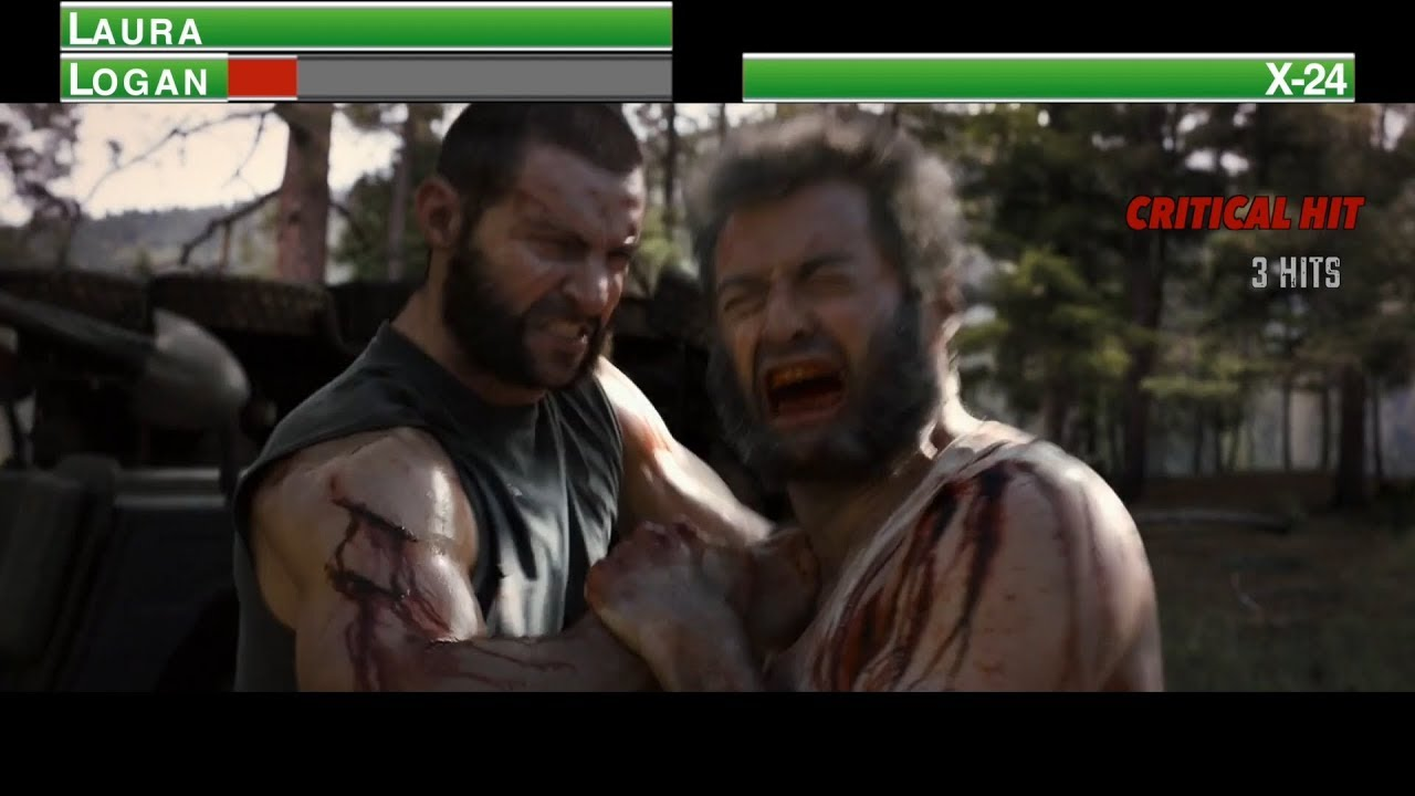 Download Logan vs X-24...with healthbars
