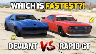 GTA 5 ONLINE - DEVIANT VS RAPID GT (WHICH IS FASTEST?)