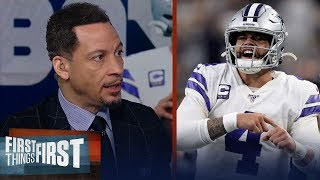 Dak Prescott isn't a top 5 QB, but he's still a winner — Chris Broussard | NFL | FIRST THINGS FIRST