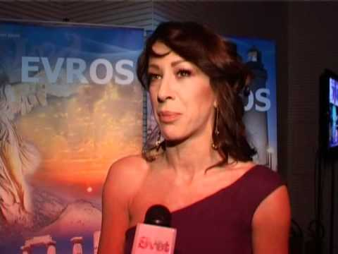 Fotos Pittadjis & Romana Interview - Evros - TV Svet