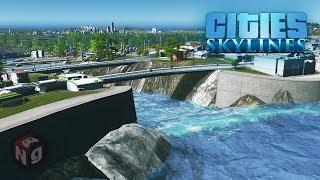Cities Skylines - Большая рукотворная река! #26