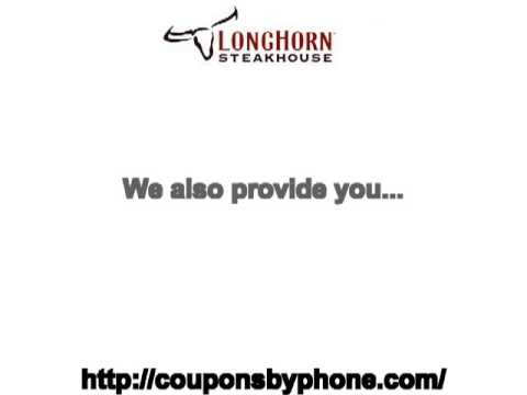 picture relating to Longhorn Coupons Printable named Longhorn Steakhouse printable coupon
