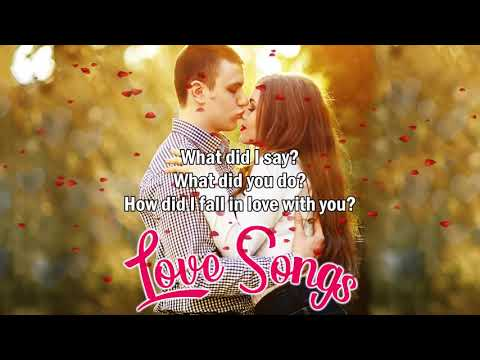 Top 100 Old Love Songs Lyrics - The Most Love Songs 70s 80s 90s with Lyrics