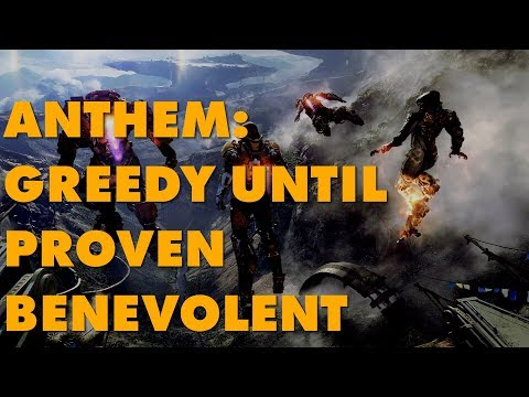 Analyst Suggests Anthem's Loot Boxes Could Be 'Just Cosmetic'