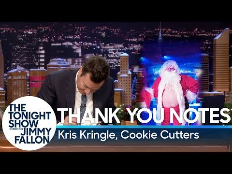 Thank You Notes: Kris Kringle, Cookie Cutters Mp3