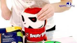 Постельное белье, подушки и пледы Angry Birds(, 2013-12-18T15:14:44.000Z)