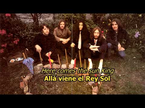 Sun King - The Beatles (LYRICS/LETRA) [Original]