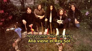 Sun King - The Beatles (LYRICS/LETRA) [Original]